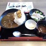 上大岡 肉寿司 - 和風馬スジカレー定食