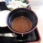 上大岡 肉寿司 - 赤だし