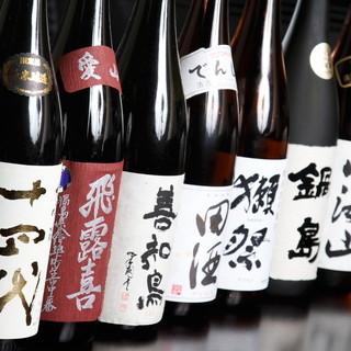 日本酒好きを満足させる品揃え!!