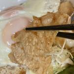 キッチン SALA - 豚のしょうが焼きは、柔らかく甘めの味付け