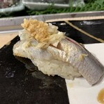 第三春美鮨 - 真鰯 80g 巻き網漁 大阪府岸和田