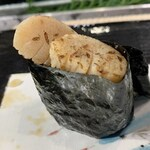 第三春美鮨 - 北寄貝 貝柱 備長炭炙り 北寄貝 大 桁曳き網漁 北海道長万部