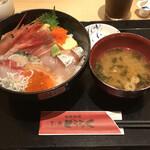 お魚どうらく - どうらく海鮮丼