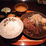 136975458 - ステーキ定食