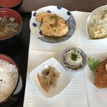 ここな - 料理写真:創作プレートSet +デザート、コーヒーSet  1300円