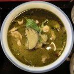スタミナキッチン - グリーンカレー 690円 のグリーンカレー