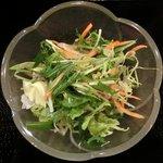 スタミナキッチン - グリーンカレー 690円 のサラダ
