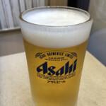 松屋 - 生ビール(小ジョッキ)190円