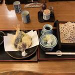 Sobahiro - 天ざる蕎麦(大盛)1,750円