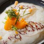 浅葱  - 真鯛の炙り蒸し茶漬け