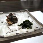 136997002 - すっぽん(大分)山椒醤油焼き・・すっぽんを出されるとは思わなかったので、いい意味で驚きましたよ。