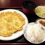 麗人飯店 - エビと玉子の炒め