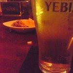グレン・ウィスキー&カクテルバー - ビールとお通し