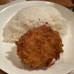 Jinkokku - カニクリームコロッケとライス