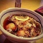 137005995 - つけ汁ピリ辛鶏(温)