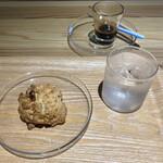 ソルズ コーヒー ラボラトリー - くるみのスコーン220円税込み