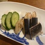 大人の日本酒バル いろり - 鯖の燻製