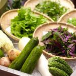 島野菜としゃぶしゃぶ がじゅまる - 島野菜をたっぷり召し上がれ‼︎