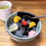 梅むら - みつ豆(500円)