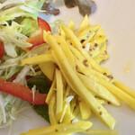 Community Cafe ♭ - コリンキーというカボチャの副菜