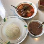 レストランブラジル - カルネ・デ・パネラ  CARNE DE PANELA&セット SET