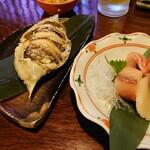 鬼の厨 しんすけ - 渡り蟹 刺身5種盛り1人前