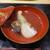 鮨旬美西川 - 料理写真:甘臺と松茸は軽く炙って上品なお椀に仕上がってます
