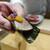 鮨旬美西川 - 料理写真:のどくろに雲丹醤油