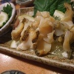 Ootaya - 「 活つぶ貝刺身 」 ¥935