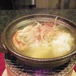 天現寺小野 - 鱧と松茸鍋