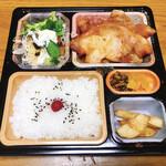 まきしむ - 料理写真:ロース生姜焼き弁当