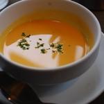 マザームーンカフェ - 冷たいニンジンのポタージュ