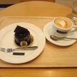 カカオサンパカ カフェ - ケーキセット ¥960