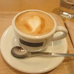 カカオサンパカ カフェ - カプチーノ