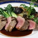 ル ベナトン - 鹿フィレ肉のステーキ