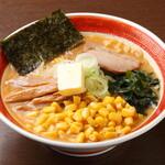 えぞっこ - 札幌来たらこれでしょ!!バターコーン。スープとバター、黄金色の麺のコラボを味わってください!