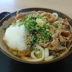根っこ - 肉ぶっかけ(1玉)