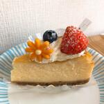 137035640 - ベイクドチーズケーキ(450円)