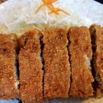 柳ばし - メンチカツ定食