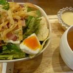 スマイルカフェ 1/2 - サラダのランチ!Good!