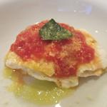 エスプリメ - パッケリのリコッタ和えトマトソース