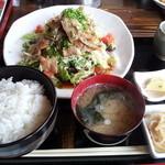 食彩にじ - 焼肉定食①