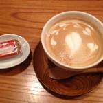 ユニ カフェ - カフェラテ