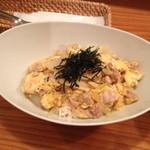 ユニ カフェ - 地鶏の親子丼