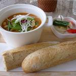 スマイルカフェ 1/2 - とっても「やさしい味」がするスープ。絶品!