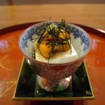 ダイニングキッチン チドリ - 利尻の雲丹を使った雲丹豆腐