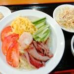泰山亭 - 料理写真:冷やし中華 935円