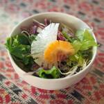 アカーシュ - 料理写真:ランチのサラダ