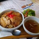 ファミリーレストラン いし橋 - 料理写真:アイドル(肉のせチャーハン)@900円