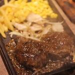 NICK HOUSE - 黒毛牛の炭焼こぶしハンバーグ